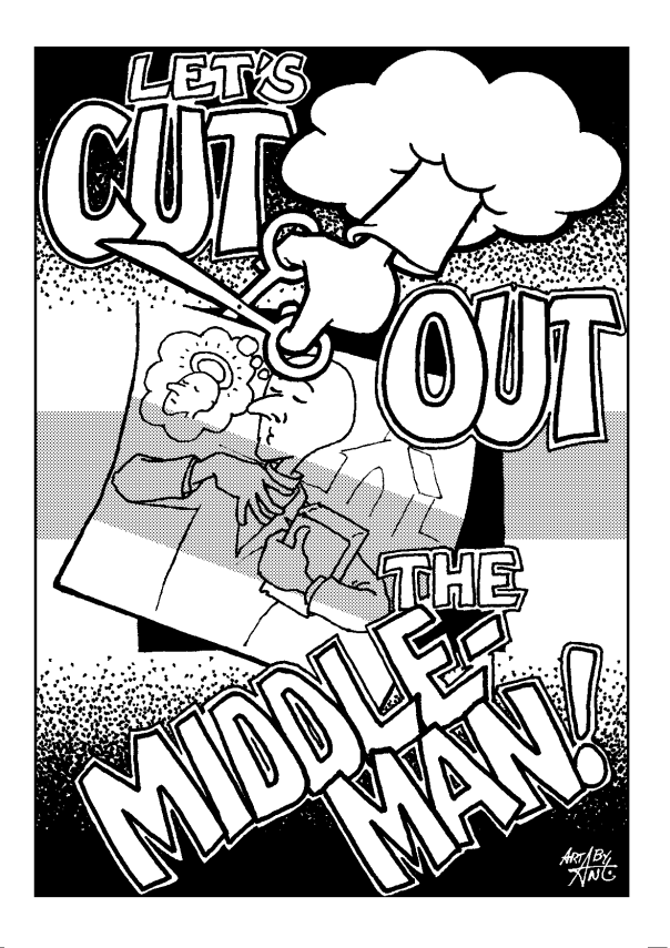 Cut Out the Middleman A6 pg1